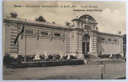 V 72650 Roma - Esposizione Internazionale Di Belle Arti - Vigna Cartoni - Padiglione Della Francia - Expositions