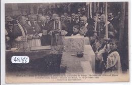 NANCY- POSE DE LA PREMIERE PIERRE DE LA CHAPELLE DE SAINTE-THERESE DE L ENFANT JESUS- 1927 - Nancy