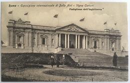V 72652 Roma - Esposizione Internazionale Di Belle Arti - Vigna Cartoni - Padiglione Dell'Inghilterra - Expositions