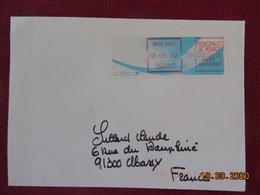 Quatorze Lettres De Monaco Avec Vignettes De Distributeurs Différents. - Entiers Postaux