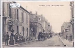 CHALETTE- LE MARCHAND DE VINS DE LA RUE LAZARE CARNOT- ANIMEE - Autres Communes