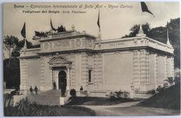 V 72655 Roma - Esposizione Internazionale Di Belle Arti - Vigna Cartoni - Padiglione Del Belgio - Expositions