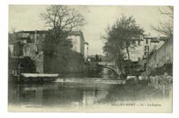Sollies-Pont - 50 - Le Gapeau (animation, Levée, Pont ) Pas Circulé - Sollies Pont
