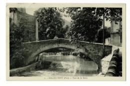 """Sollies-Pont - Le Pont De La Serre ( Animation, Levée ) Circulé 1936, Cachet """" Rotoplan """" - Sollies Pont"""