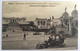 V 72657 Roma - Esposizione Internazionale Di Belle Arti - Vigna Cartoni - Panorama Del Padaglione Francese - Expositions