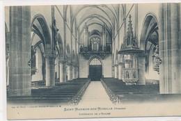 CPA Saint-Maurice-sur-Moselle (Vosges) L'intérieur De L'église Les Orgues - Epinal