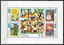 DDR / GDR - Mi-Nr 1991/1994 Klbg Postfrisch / MNH ** (A1122) - Blocks & Sheetlets