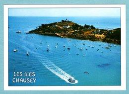 CP 50 -  Les Iles Chausey - La Grande Île, Les Hôtels Et Le Sund - Granville