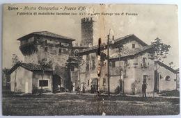 V 72659 Roma - Mostra Etnografica - Piazza D'Armi - Fabrica Di Maioliche - Expositions