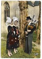 56 Folklore De France La Bretagne Le Faouet Langonnet Au Son Du Biniou (2 Scans) - Le Faouet