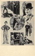 Oude Postkaart Met Charlie Chaplin Film Acteur 1936 - Célébrités