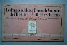 Album Chromos Eau De Cologne SYLVIA/ Laboratoires Tuypens/ St NiKlaas /complet - Album & Cataloghi