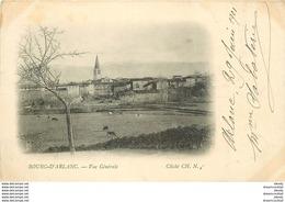 WW 63 BOURG D'ARLANC. Vue Sur Le Village En 1901 - Autres Communes