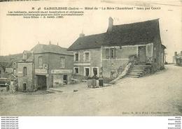 WW 36 GARGILESSE. Hôtel De La Mère Chamblant 1929 - France