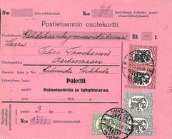 Colis Postal De Mikkeli, Parcel Post 1925 - Finland