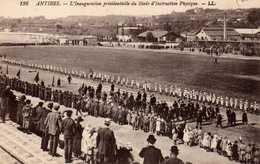 L'Inauguration Présidentielle Du Stade D'instruction Physique. - Antibes