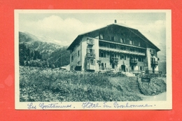 SAINT GERVAIS- LES CONTAMINES- AU RETRO : HOTEL DU BONHOMME - CAMORS - Saint-Gervais-les-Bains