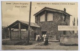 V 72661 Roma - Mostra Etnografica - Piazza D'Armi - Casa Colonica Di S. Gimignano E Vetrerie Di Empoli - Expositions