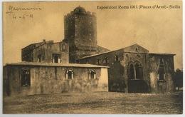 V 72663 Esposizione Roma - Piazza D'Armi - Sicilia - Expositions