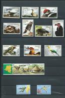 LES OISEAUX DU CONGO . 33 Timbres Et 3 Blocs. Neufs ** TRÈS BEAU LOT. - Collections, Lots & Séries