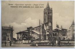 V 72666 Roma - Esposizione Regionale Etnografica - Piazza D'Armi - Padiglione Della Lombardia - Expositions