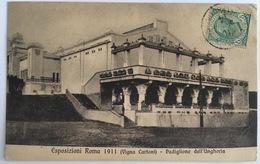 V 72667 Esposizione Roma 1911 - Vigna Cartoni - Padiglione Dell'Ungheria - Expositions