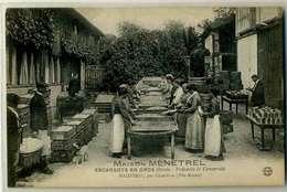 MAIZIERES  Fabrique D 'escargots En Gros, Vers Chevillon. Métier, Beau Plan Animé - Frankreich