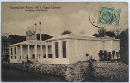 V 72668 Esposizione Roma 1911 - Vigna Cartoni - Padiglione Dell'Austria - Expositions