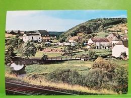 Lellingen, Café Origer. Panorama - Cartoline