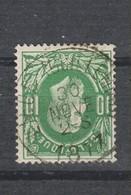 COB 30 Oblitération Centrale Simple Cercle LIEGE (Guillemins) - 1869-1883 Léopold II
