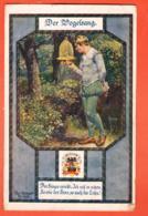 MK-33 Litho Der Vogelsang, Lied Von Schubert Gelaufen, Briefmarke Fehlt - Opéra
