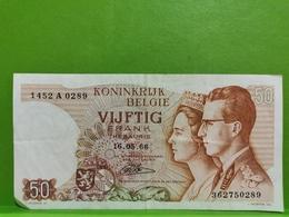 Billet, 50 Francs 1966. Belgique Tb+ - [ 2] 1831-... : Reino De Bélgica