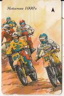 "JERSEY ISL. - 75th Anniversary Of Jersey Motor Club/Motocross 1990""s, CN : 37JERD(normal 0), Tirage %14700, Used - Motorräder"