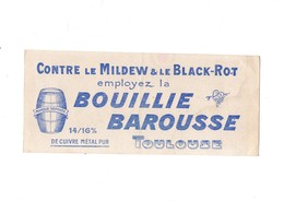 Contre Le Mildew Et Le Black-Rot Employez La Bouillie BAROUSSE  Toulouse - Agriculture