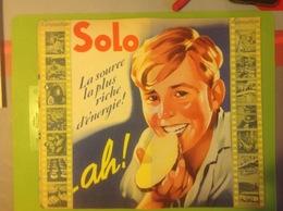 Pu. 167. Depliant Publicitaire à 3 Volets De La Margarine Solo - Publicités