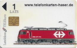 Latvia - Private - Swiss Locomotive Train, 1Ls, Mint (check Photos!) - Lettonie