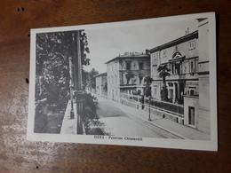 Cartolina Postale Originale D'epoca, Siena, Pensione Chiusarelli - Siena