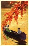 Adolfo BUSI - Couple En Barque (degami 2245) - Busi, Adolfo