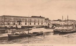 COGNAC , Le Château Où Naquit Le Roi François 1er  (Etablissements De MM. OTARD DUPUY & C° Depuis 1795) (quai Bateau ) - Cognac