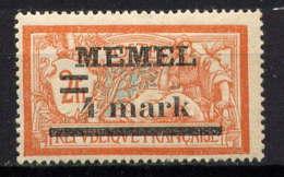 MEMEL - 31* - TYPE MERSON - Unused Stamps