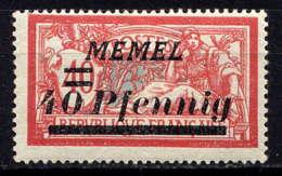 MEMEL - 53* - TYPE MERSON - Unused Stamps