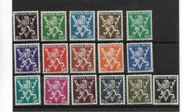 België  N° 674/689  Xx Postfris Cote 27 Euro - Belgique