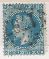 N°29 GRANDS CHIFFRES BIEN FRAPPES. - 1863-1870 Napoléon III Lauré