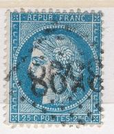 N°60 GRANDS CHIFFRES BIEN FRAPPES. - 1871-1875 Ceres
