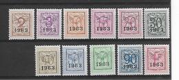 België Preo N° 736/746  Xx Postfris Cote 24 Euro - Precancels
