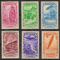 Beneficencia Huerfanos De Correos 021/26 ** MNH. 1938 - Wohlfahrtsmarken