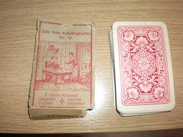 Sehr Feine Aufschlagkarten Nr V Serbo Kroatisch Ungarisch Deutsch Englisch Italienisch 45 Pieces - Kartenspiele (traditionell)