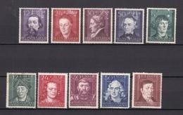 Generalgouvernement - 1942/44 - Michel Nr. 96/100+120/124 - Ungebr./Postfrisch - Besetzungen 1938-45