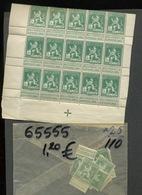 110**. 15 Ex **.   Très Frais. Joli Pas Cher - 1912 Pellens