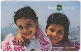 SWITZERLAND D-363 Prepaid GlobalOne - People, Children - MINT - Suisse